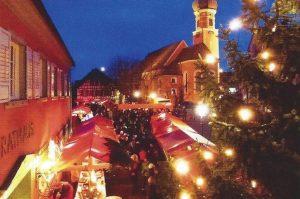 Allensbacher Weihnachtsmarkt mit dem SV Allensbach