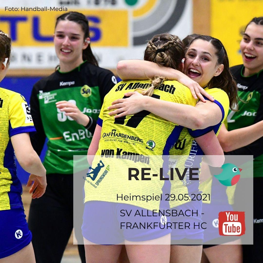 RE-Live: SV Allensbach - Frankfurter HC