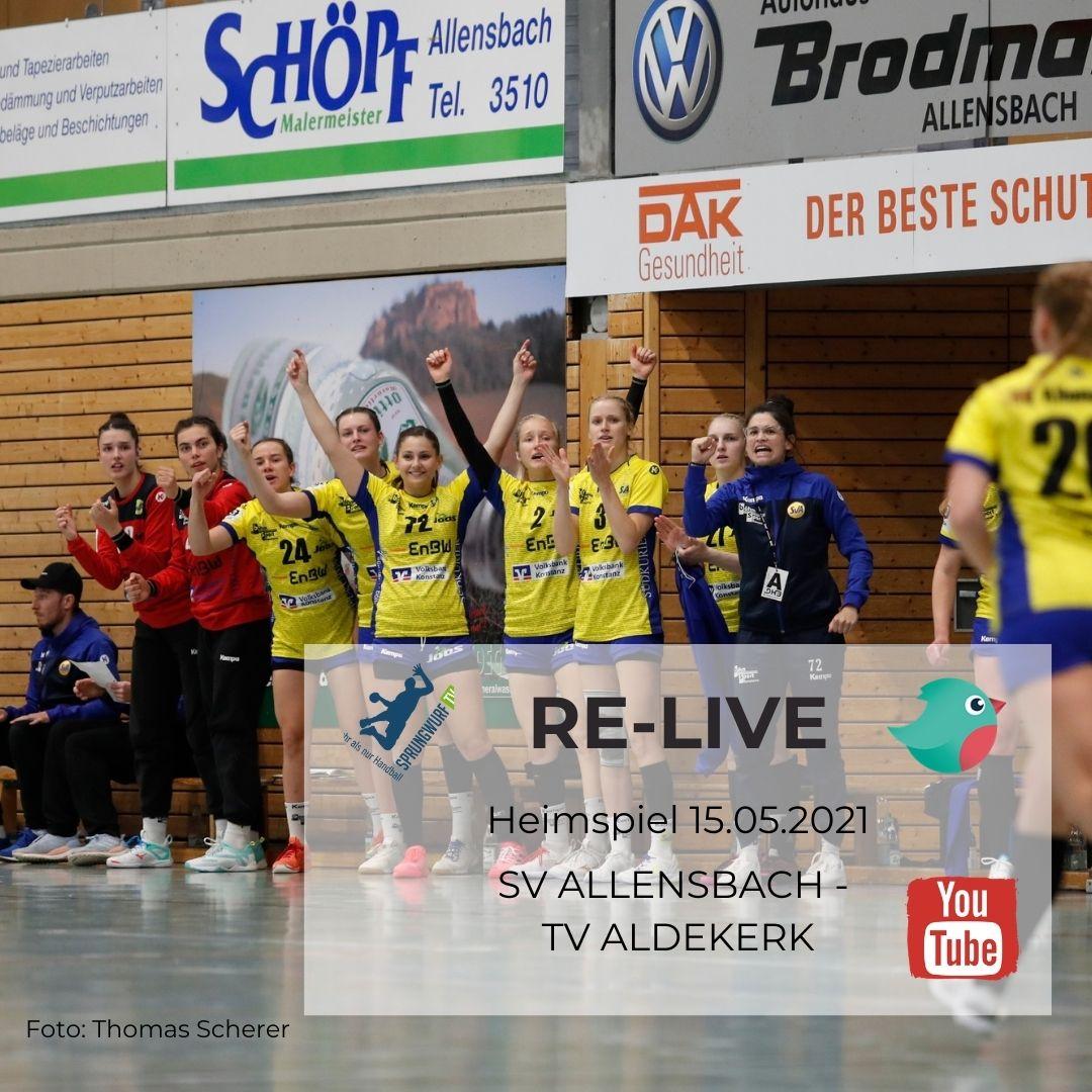 Livestream-Sponsor Reachbird sowie von der Plattform Sprungwurf.tv
