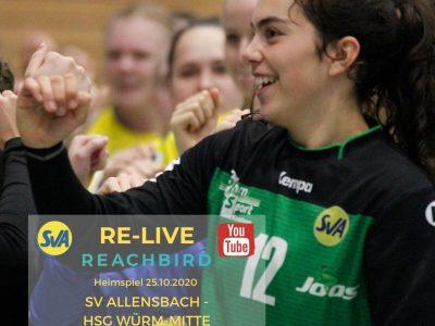 Re-Live SV Allensbach - HSG Würm-Mitte