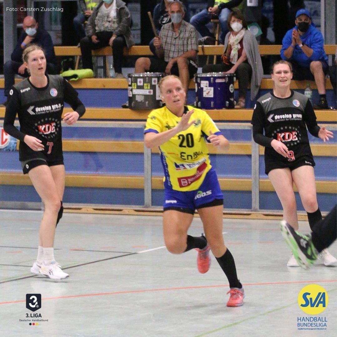 SV Allensbach gewinnt gegen den HC Erlangen im Riesenberg