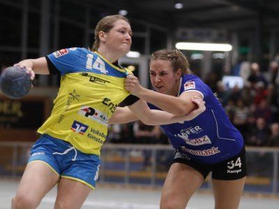 Anna Maier im Spiel gegen die HCD Gröbenzell
