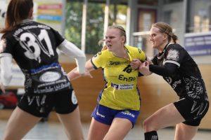 Kimberly Gisa im Spiel SV Allensbach - HSG Würm-Mitte|Foto: Thomas Scherer