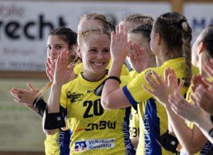 Laura Epple verlängert ihren Vertrag beim SV Allensbach Handball Bundesliga