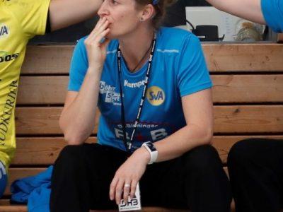 Sandra Reichmann Trainerin vom SV Allensbach |Bild: Thomas Scherer