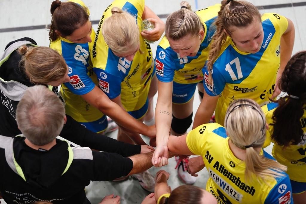 Gemeinsam zum Erfolg. Mit Leidenschaft, Kampf und Emotionen will der SV Allensbach beim Skoda Cup einen ersten Vorgeschmack auf die neue Saison liefern.