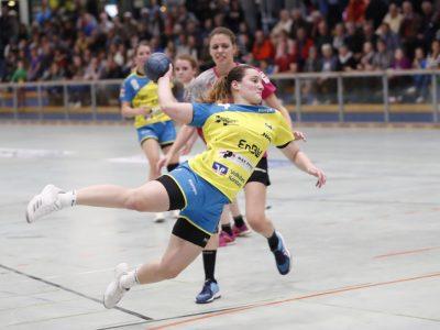 Spielerin des Spiels gegen die TuS Metzingen II Sarah Rothmund