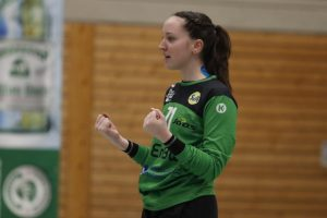 Leonie Kuntz im Spiel SV Allensbach - SG Kappelwindeck/Steinbach (Endstand 26:26)|Foto: Thomas Scherer