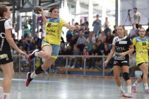 Tabea Maier im Trikot des SV Allensbach gegen die SG Schozach-Bottwartal