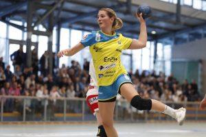 Nadja Greinert in Aktion für den SV Allensbach |Bild: Thomas Scherer