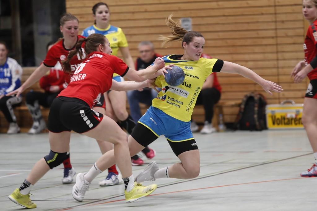Sarah Rothmund wurde zur besten Spielerin des Spiels gewählt | Bild: Thomas Scherer