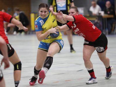 Tabea Meier vom SV Allensbach gegen den TSV Haunstetten /Bild: Thomas Scherer
