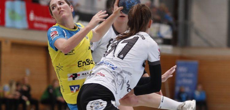 Nadja Greinert wurde beste Spielerin am EnBW-Heimspieltag gegen die HSG Würm-Mitte