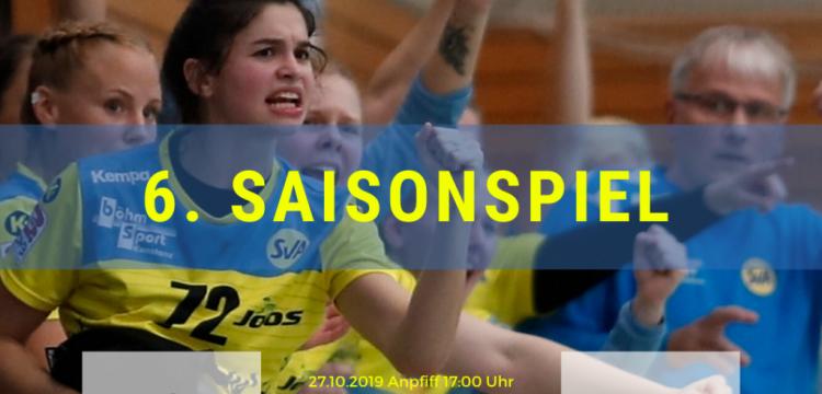 6.Saisonspiel: SG Kappelwindeck/Steinbach vs. SV Allensbach