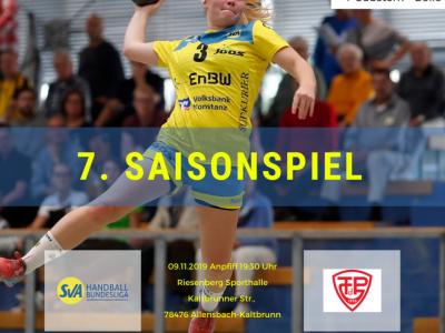 7. Saisonspiel: SV Allensbach vs. TG88 Pforzheim