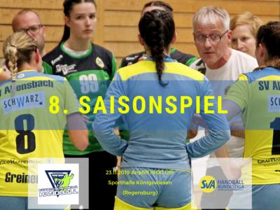 8. Saisonspiel: ESV 1927 Regensburg vs. SV Allensbach