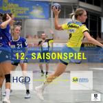 12. Saisonspiel HCD Gröbenzell vs. SV Allensbach