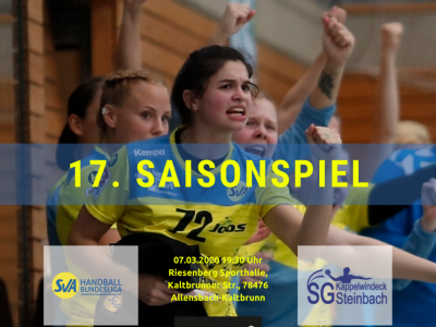 17. Saisonspiel: SV Allensbach vs. SG Kappelwindeck/Steinbach