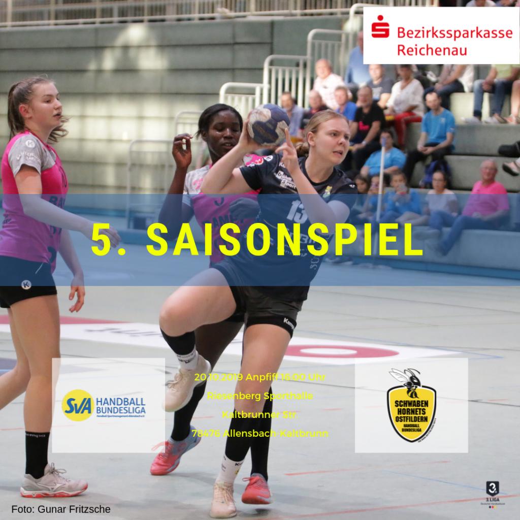 5. Saisonspiel: SV Allensbach - TV Nellingen