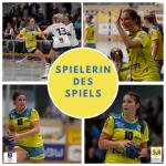 Spielerinnen des Spiels gegen den ASV Dachau Tabea Maier und Nadja Greinert |Fotos: Thomas Scherer