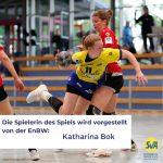Spielerin des Spiels Katharina Bok