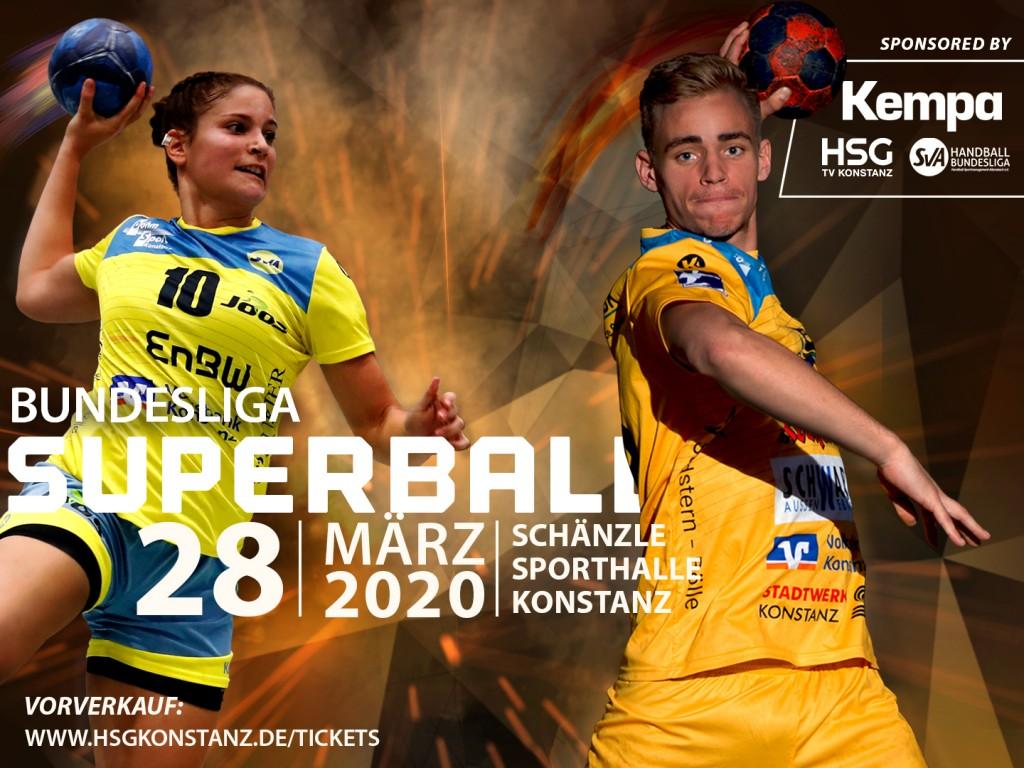 Superball 2020 SV Allensbach und HSG Konstanz