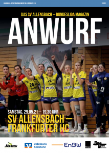 Hallenheft SV Allensbach - Frankfurter HC