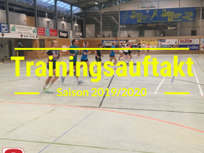 Trainingsauftakt 2019/2020
