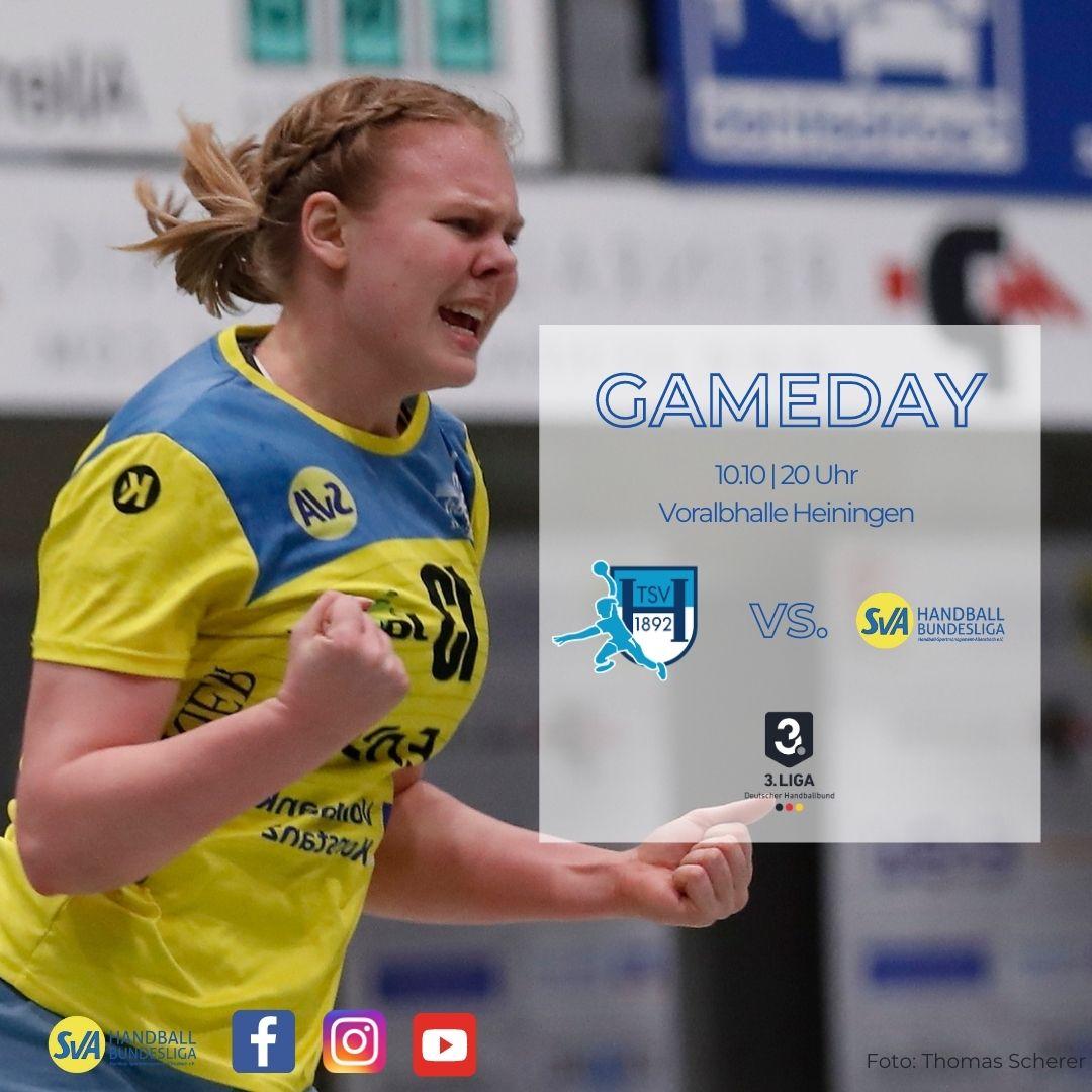 Vorbericht 3. Handball Bundesliga TSV Heiningen vs. SV Allensbach
