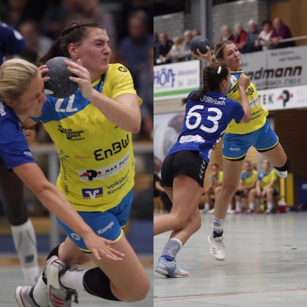 Svenja Hübner und Nadja Greinert