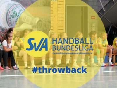 throwback: Heimspiel SV Allensbach Handball Bundesliga