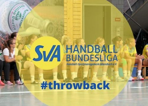 throwback: Heimspiel SV Allensbach Handball Bundesliga
